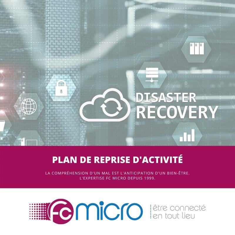 Plan de reprise d'activité - FC MICRO